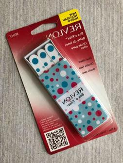 Revlon Box O'Files Dual Sided 6 Nail Files 80647