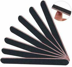 1 to 50 Lot Pro Double Sided Manicure Nail File Emery Boards