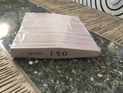 100 Gray Professional OPI ACR UV Gel Nail File Foam Buffer 1