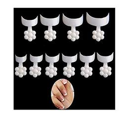100 Pieces Disposable Short Acrylic False Nail Art Tips DIY
