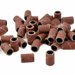 100pcs Nail Drill Sanding Bands Machine Replacement Bits Fil