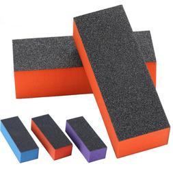 10Pc Nail Polisher 4 Way Buffer Buffing Block Manicure File