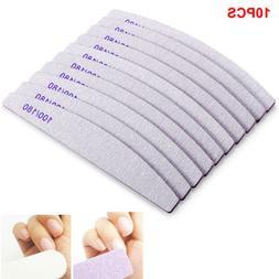 10X Pro Nail Art Sanding Grit Buffer Buffing Manicure File E