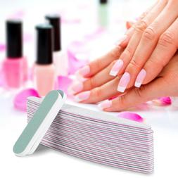 12+2 Packs Pro Double Sided Manicure Nail File Emery Boards
