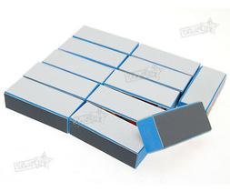 12 x 4 WAY Nail Art Buffer File Block Pedicure Manicure Buff