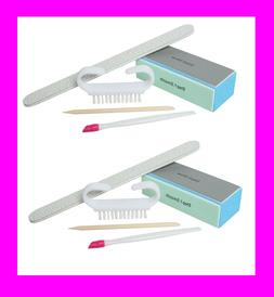 2 manicure 5pc set 180 400 nail