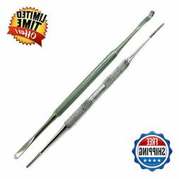 2 PC RUST FREE DUAL SIDED NAIL FILE & INGROWN TOE NAIL LIFTE