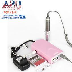 2018 USA USB Electric Nail File Drill Manicure Pedicure Tool