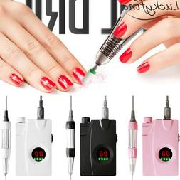 30000RPM Electric Nail File Drill Machine Display LED Screen