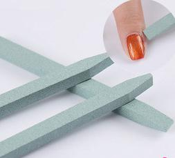 3pcs/set Unique Stone Nail Art File Cuticle Remover Trimmer