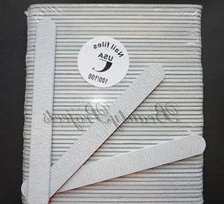 Zebra Acrylic Nail Files Plastic Center Professional 100/10
