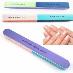 """7-in-1 7"""" Nail File Buffer Shiner Finger Toe Manicure Pedicu"""