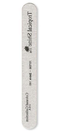 Tropical Shine 8.5 In. long Zebra Colossal Nail File 180 Med