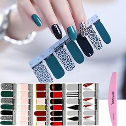 BlueZOO 1PC Nail Buffer File with 6 Different Sheets Shinny