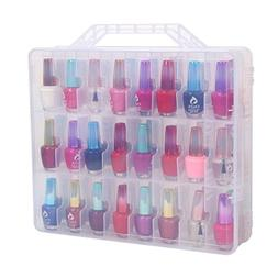 Clear Nail Polish Cosmetic Display Cases - Polish Storage Or