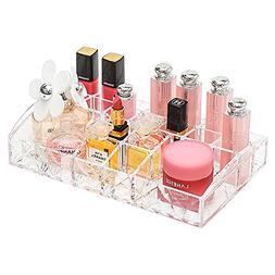 Delaman Cosmetic Makeup Organizer Acrylic Storage Drawers Di