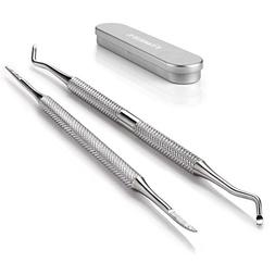 FAMILIFE L07 100% Stainless Steel Ingrown Toenail File and L