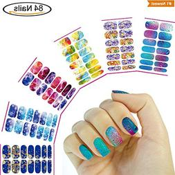 Holiday DIY Water Transfer Nail Art Stickers, Nail Beauty De