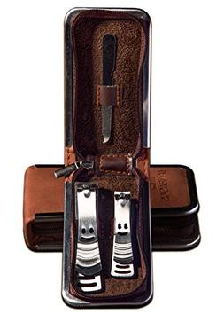 ManBasics Gifts for Guys - Nail Clippers for Men - Stainless