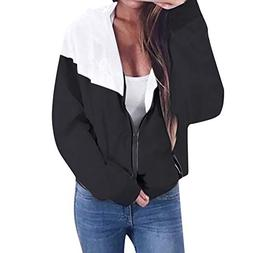 Moserian Women Long Sleeve Patchwork Thin Skinsuits Hooded Z