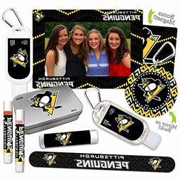NHL Pittsburgh Penguins Platinum Variety Set— with 2 Lip S