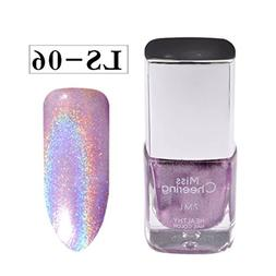 Nail Polish, Binmer 7ml Glitter Colors Gel Polish Fast-dry S