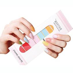 Nail Polish Strips Art Stickers – AOQING 8 Kinds Of Single