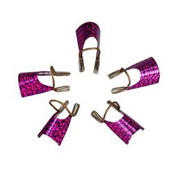 Naladoo Women Girls Nail Art Tool,5PCS Reusable UV Gel Acryl