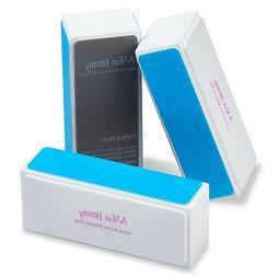 A-viva Beauty 4 Way Shine Nail Buffer Block, DIAMOND SHINE