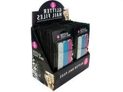 Bulk Buys Beauty Salon Manicure Glitter Nail File Set Pack O