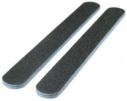 Standard Black 100/100  Washable Nail File 12 Pack by Spivle