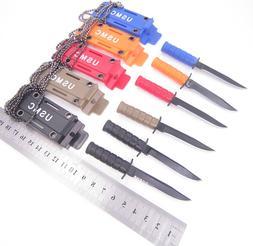 Blade Necklace Mini Pocket Knife Camping Survive Portable Ou