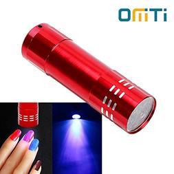 Blue : iTimo LED UV Light Gel Nail Dryer 15s Fast Dry LED Fl