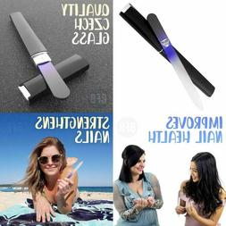 Bona Fide Beauty Nail File, Premium Czech Glass Nail File In