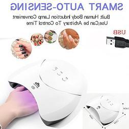Botrong 36W USB LED UV Nail Gel Curing Lamp Light Nail Gel P