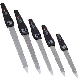 3 Swords Germany - brand quality SAPPHIRE NAIL FILE set  wit