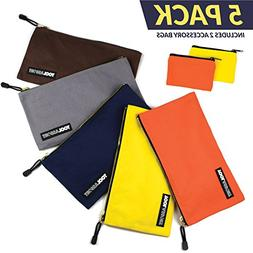 Canvas Tool Pouch, Zipper Bags Offer Durable Storage and Inc