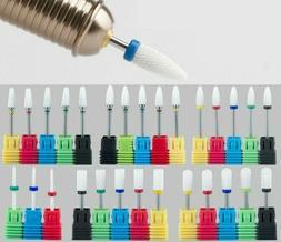 Ceramic Nail Drill Bit Rotary Manicure Pedicure Electric Bit