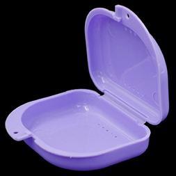 Naladoo Denture Bath Box Case Dental False Teeth Appliance C