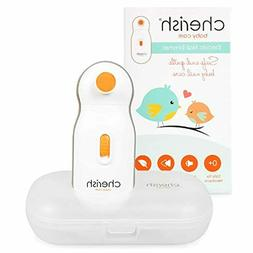 Electric Baby Nail File: Baby Nail Trimmer for Infant and To