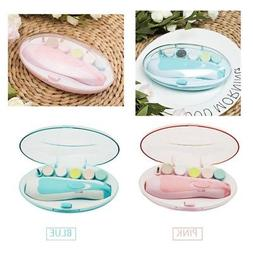Electric Baby Nail File Tool Safe Trimmer Newborn Toddler To
