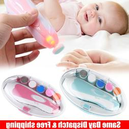 Electric Baby Nail File Trimmer/Manicure Toddler Toes Trim N