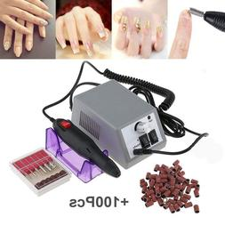 Electric Nail Drill Machine Nail File Drill Set Kit for Acry