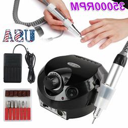 Electric Nail File Drill Manicure Machine Acrylic Pedicure T