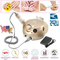 electric nail file drill manicure machine art