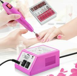Electric Nail File Drill Manicure Machine Art Acrylic Pedicu
