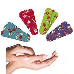 Adorox Emery Boards sandpaper Nail File Manicure & Pedicure