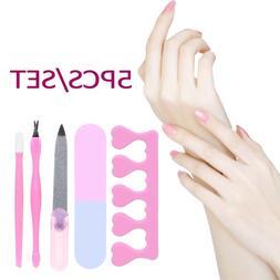 Finger Toes Separator Sanding Buffer Dead Skin Remover Nail