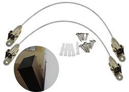 MOT Global Furniture Anti-Tip Straps - Steel Cables Furnitur