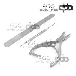 """DDP Professional Heavy Duty Ingrown Toe Nail Nippers 5"""" With"""